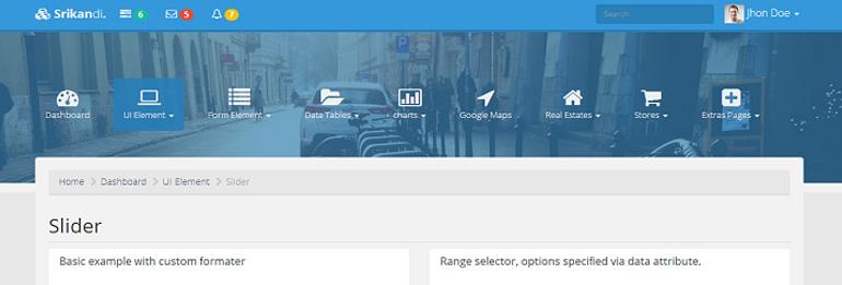 8 Great Bootstrap Dashboard Templates Gridgum