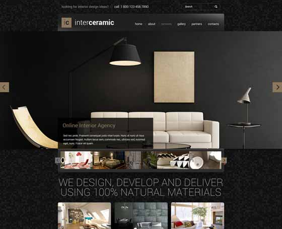 Interior and Decore bootstrap theme