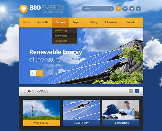 Renewable energy bootstrap template