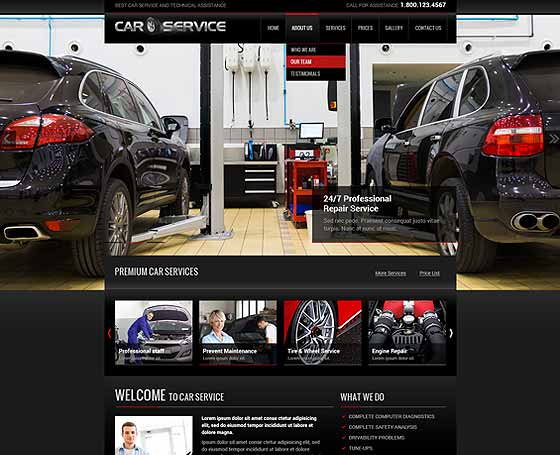 Car repair bootstrap theme