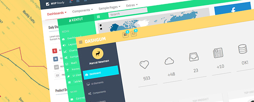 8 Great Bootstrap Dashboard Templates