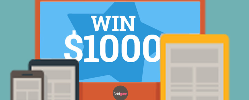 December $1000 Giveaway for Theme Developers