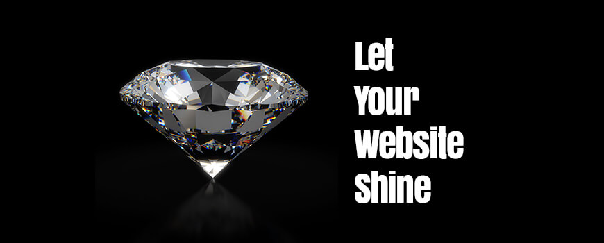 Let your website shine