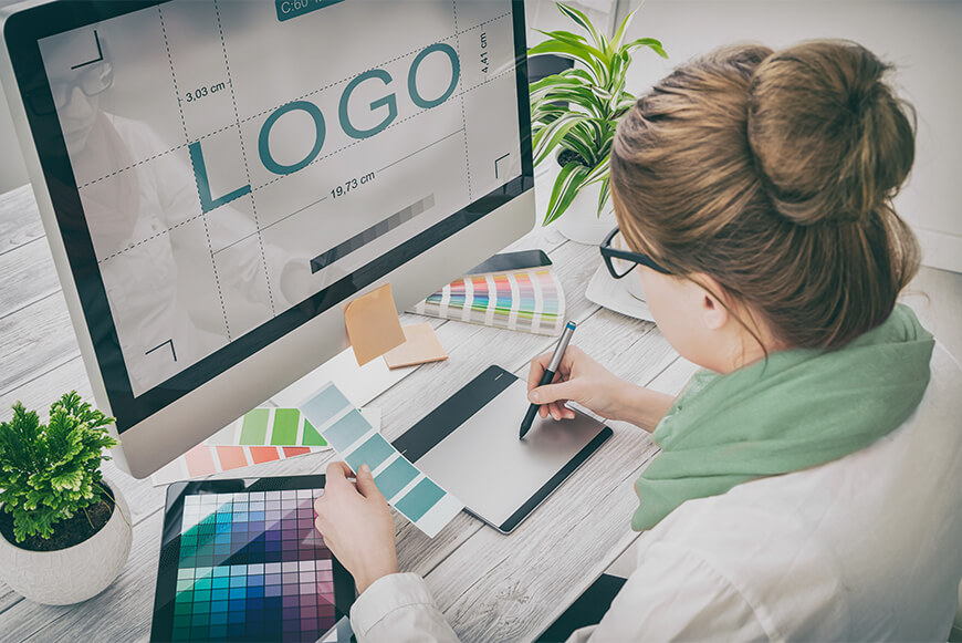 Basic steps to create logo