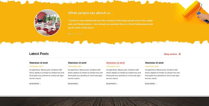 painting templates  painting website template
