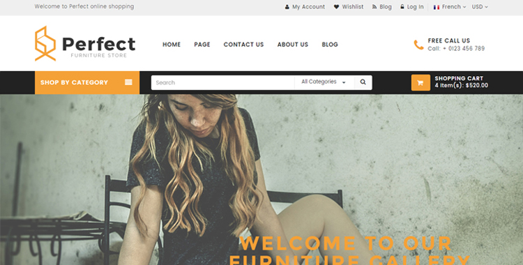 Perfect HTML5 Template
