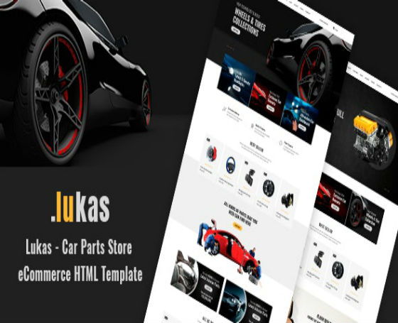 Lukas - eCommerce HTML Template