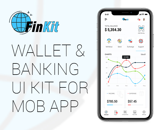 FinKit - Wallet and Banking Mob App