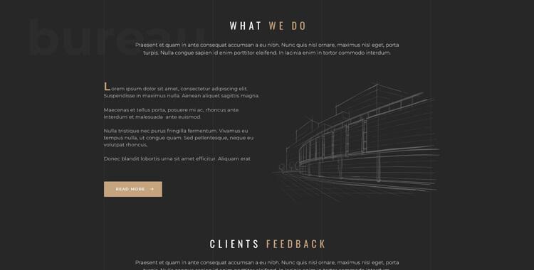 Architecture Bootstrap 4