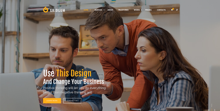 Business - Bootstrap 4 template