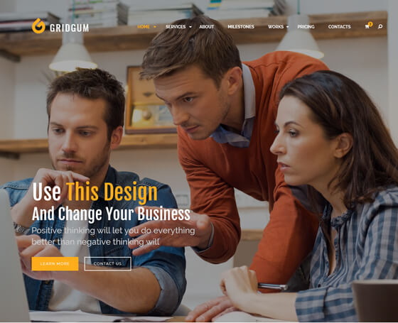 Business - Bootstrap 4 Theme
