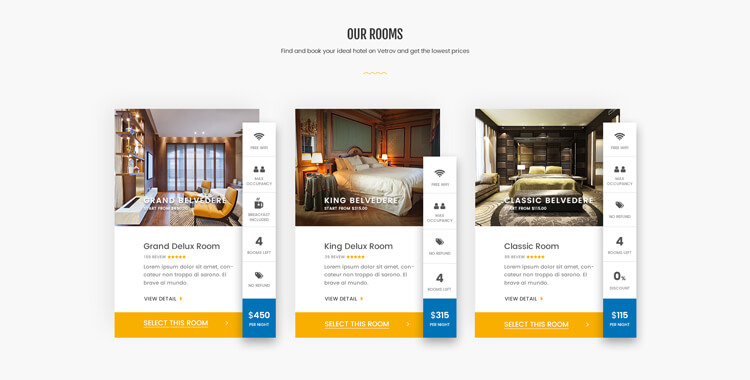 Delvatore - hotel booking Bootstrap 4 Template   Gridgum