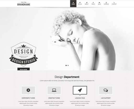 Design Studio HTML5 Template