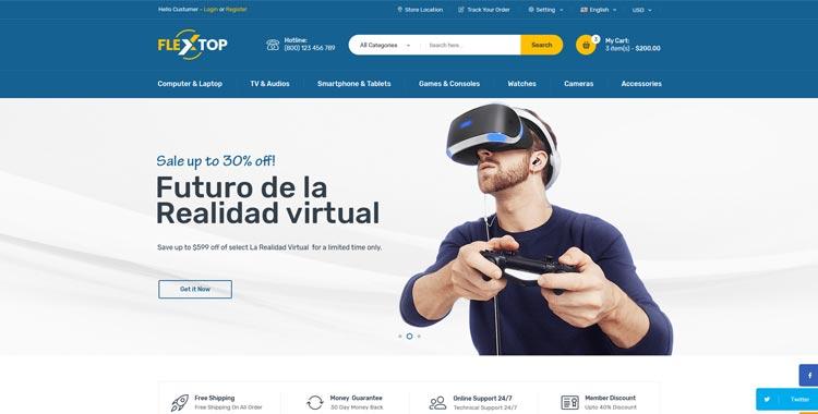 Flextop ecommerce bootstrap theme gridgum flextop bootstrap template flextop ecommerce bootstrap maxwellsz