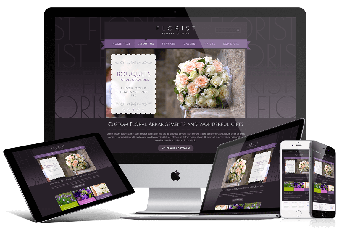 FLORIST - Free Bootstrap HTML Template