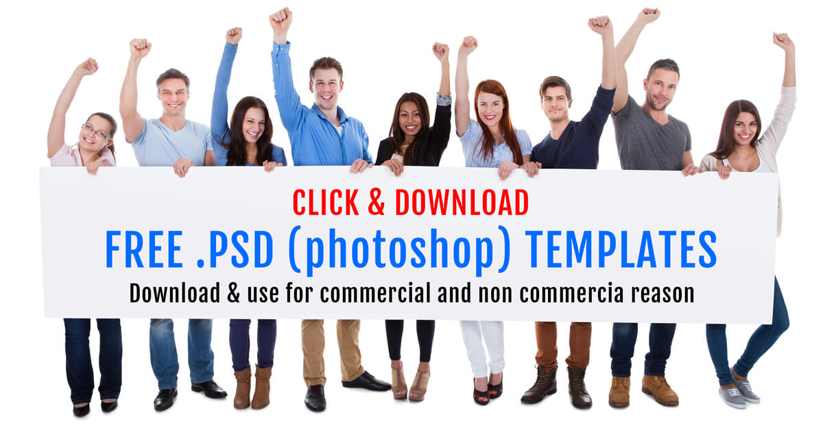 Free psd(photoshop) templates