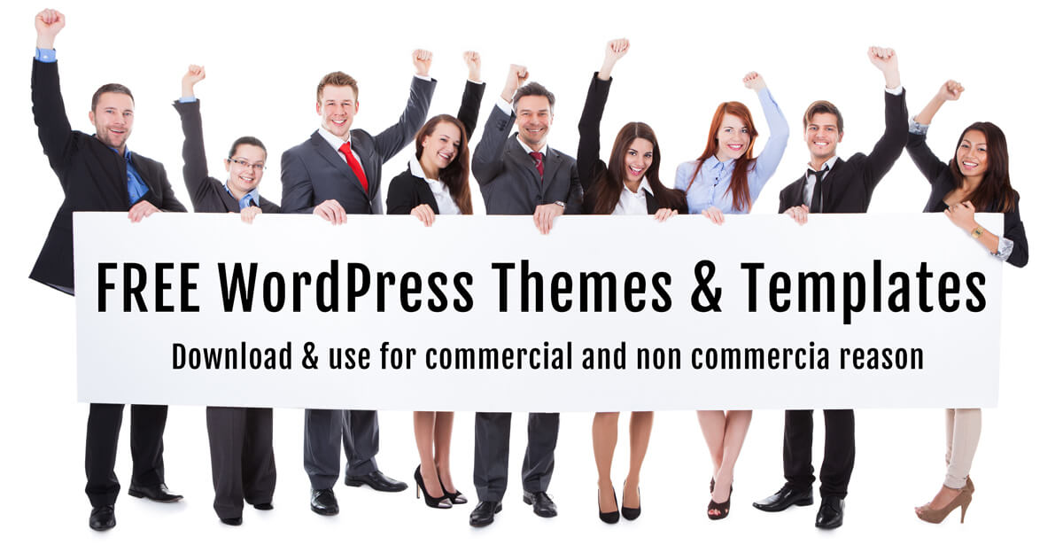 Free WordPresss themes & templates
