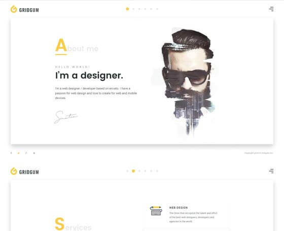 Freelancer Bootstrap 4 Theme