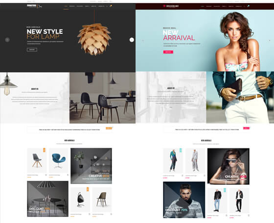 Furniture Store - Bootstrap 4 Template