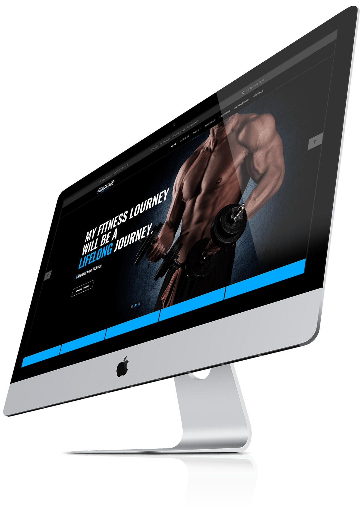 GYM, FITNESS CLUB - bootstrap theme