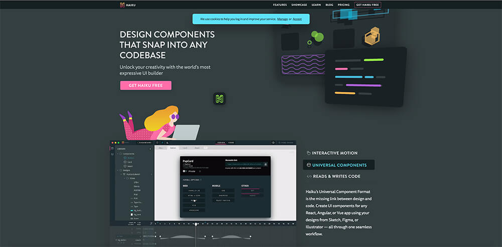 HAIKU for better design layouts!