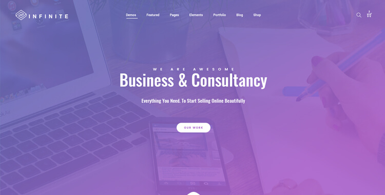 Infinite - Bootstrap Multipurpose Template