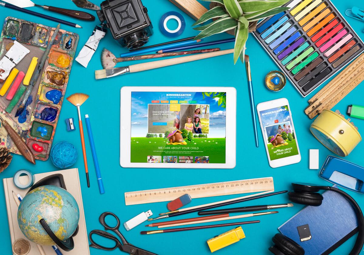 Kindergarten Responsive Bootstrap Template