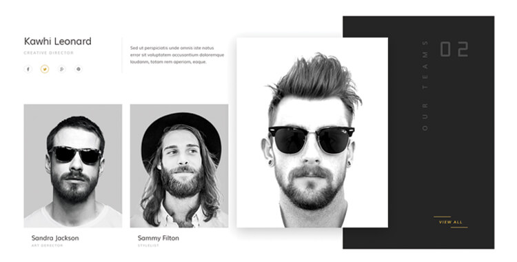 minimalist bootstrap website template