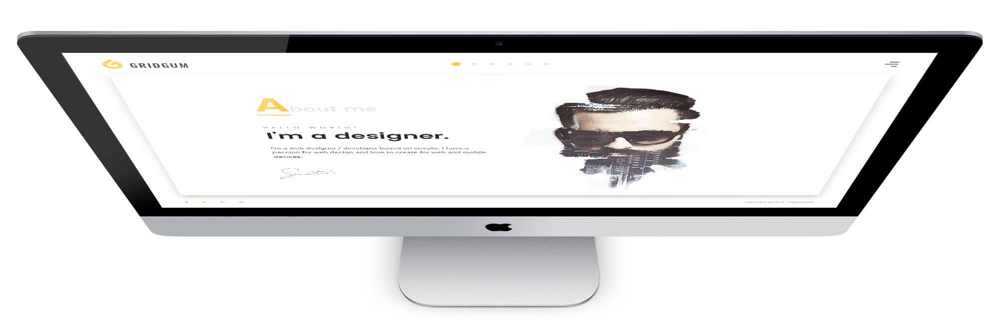 Freelancer white design