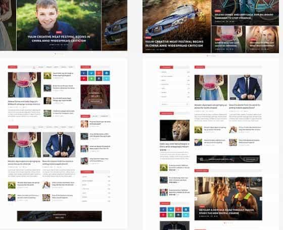 News Template Html5 | Blog Themes Blog Templates Gridgum