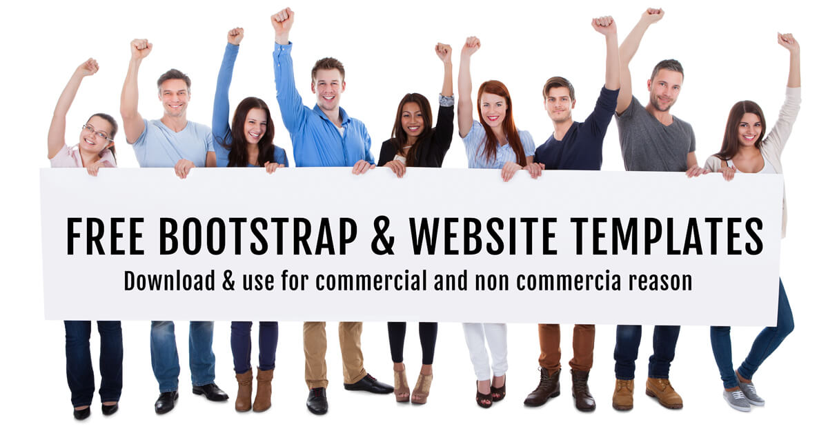 Free bootstrap templates and themes