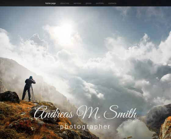 free photography bootstrap theme