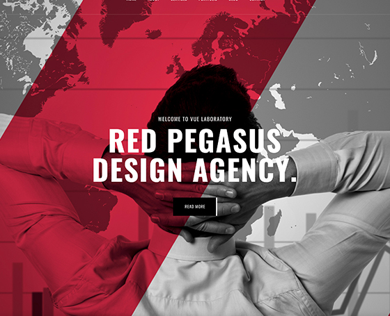 Red Pegasus Bootstrap template