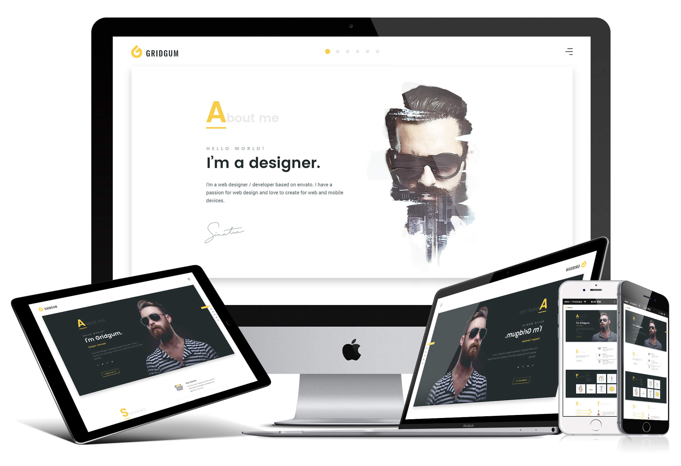 Freelancer responsive design