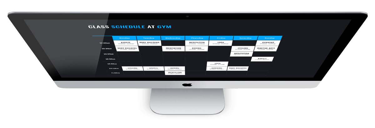 GYM, FITNESS CLUB - bootstrap website template