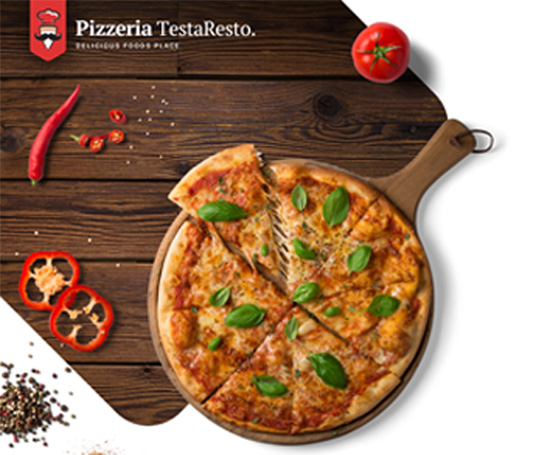 Pizzeria HTML template