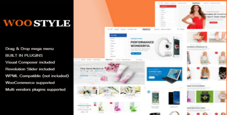 WooStyle | WooCommerce template
