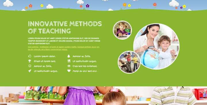 wordpress kindergarten theme