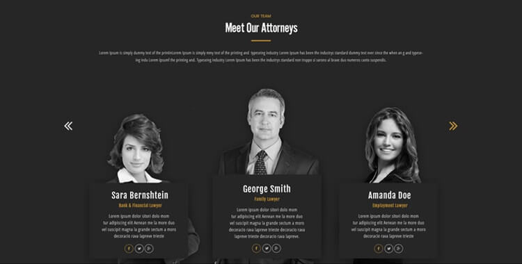 WordPress Lawyer Template