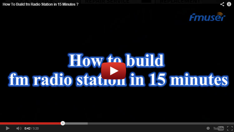 how to build online radio station