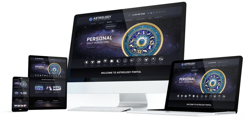 Astrology WordPress Responsive
