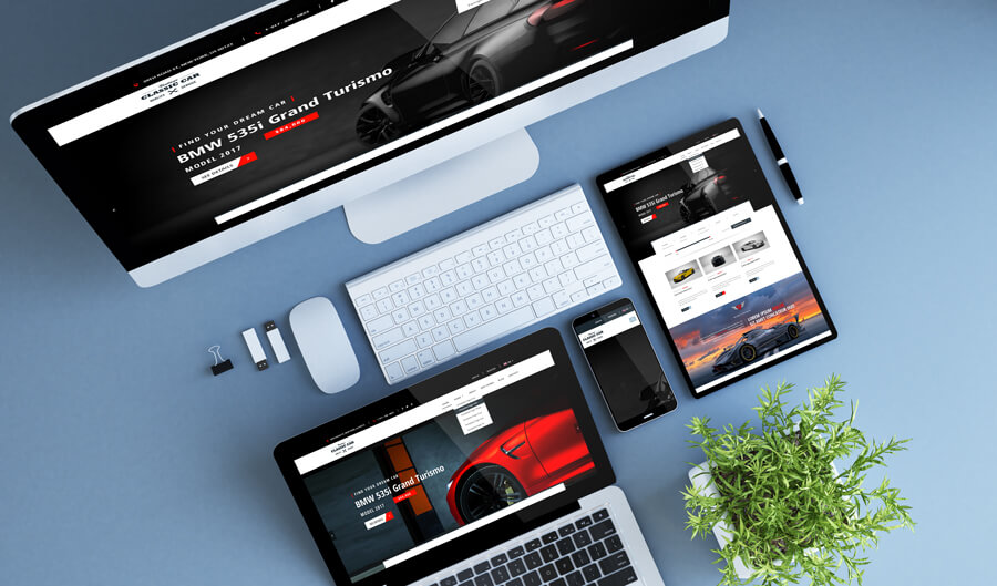 Autodealer responsive design