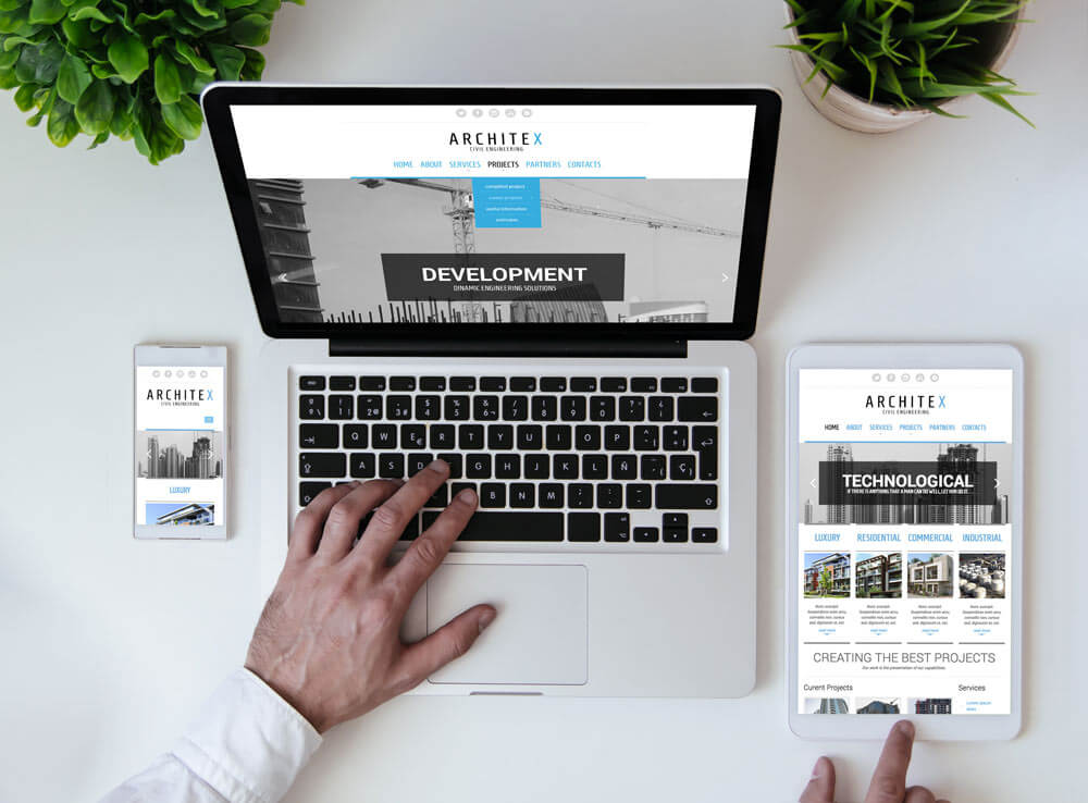 architex free bootstrap template