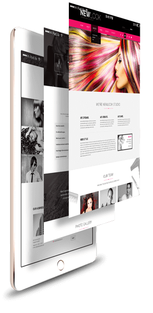 Hair Dressing Responsive Bootstrap