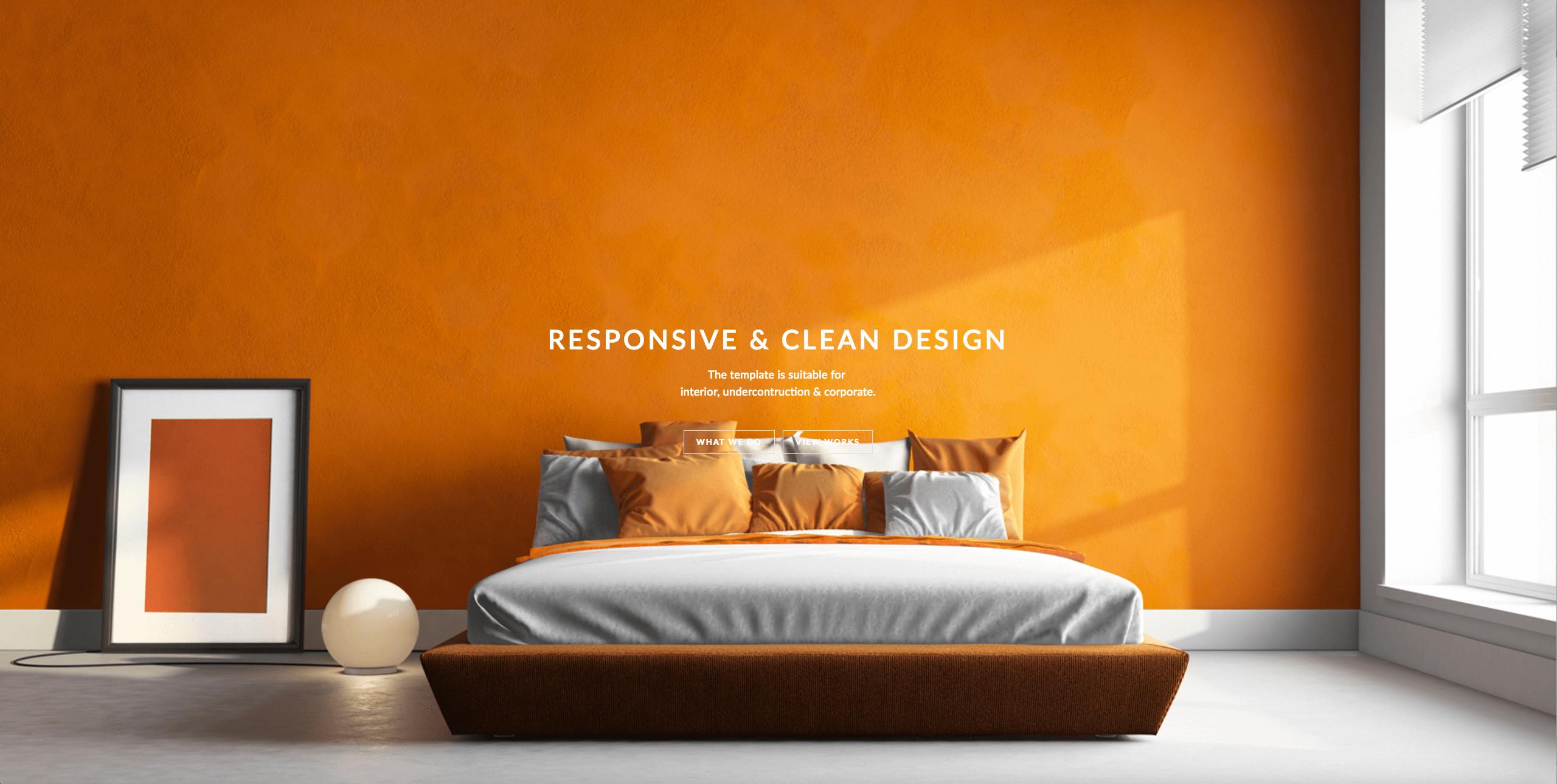 Interior Design Free Bootstrap Theme