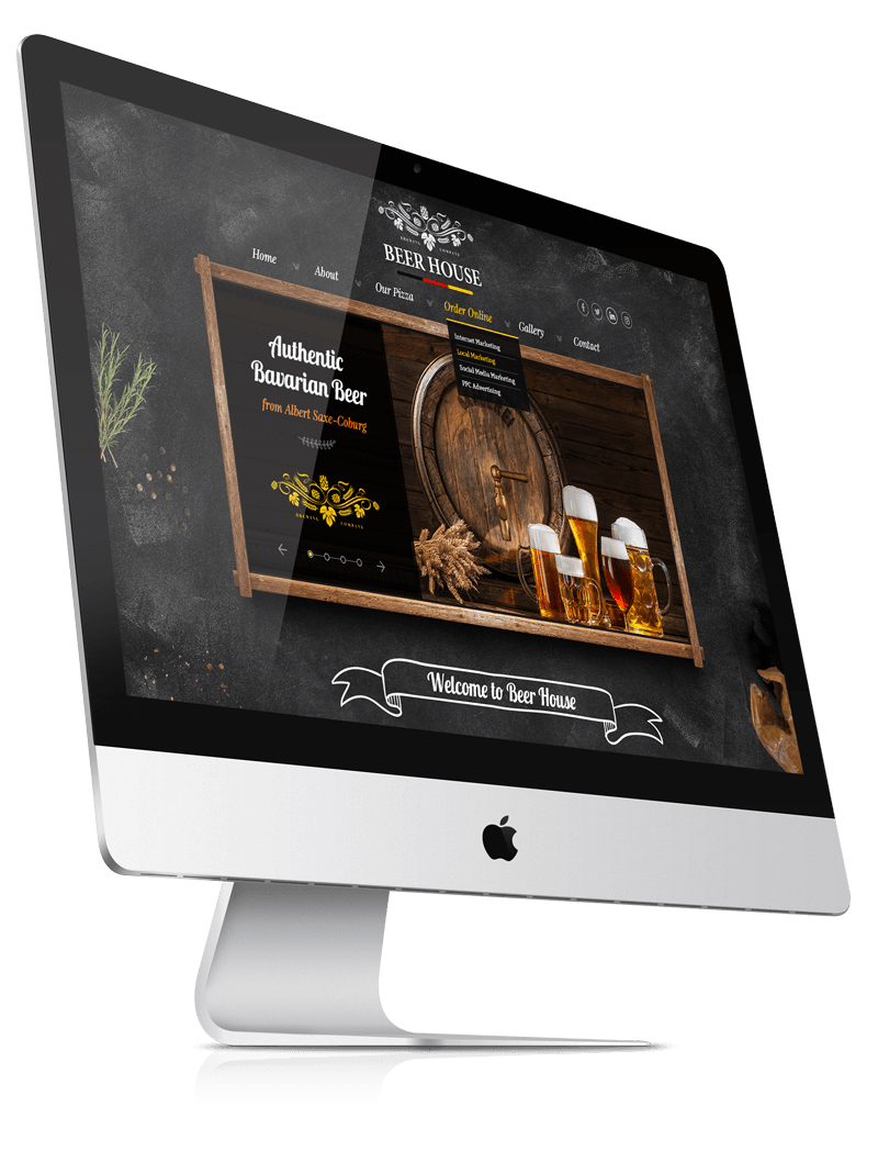 Beer House Premium bootstrap theme