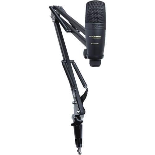 Microphone and Microphone stand