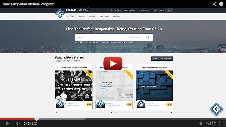 new template affiliate program