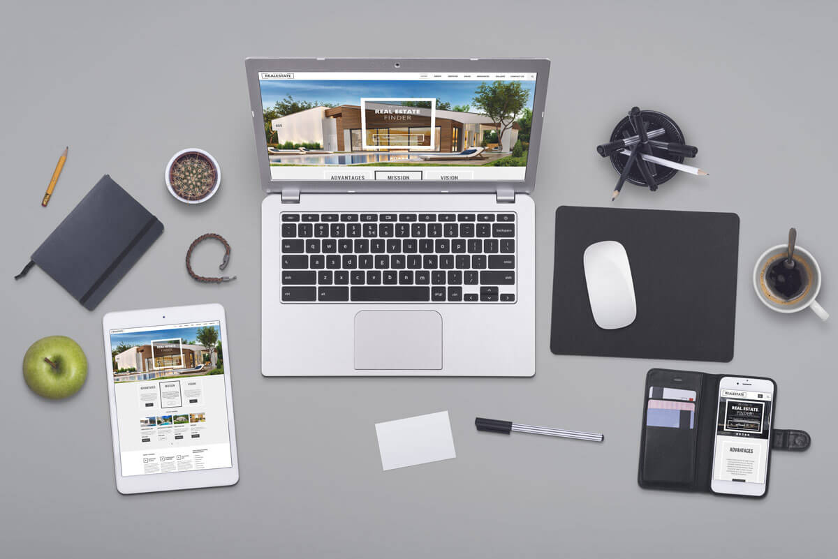Real Estate free bootstrap template