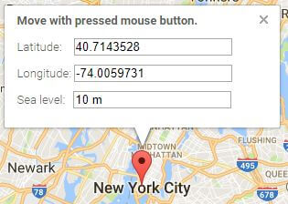 How to set up the coordinates for Google Map | Gridgum